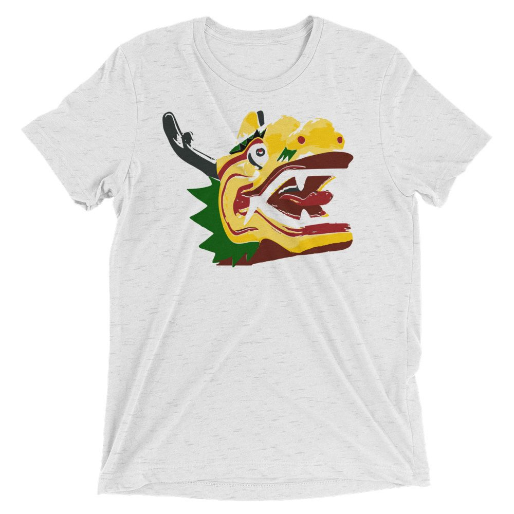 dragon head tee mockup front